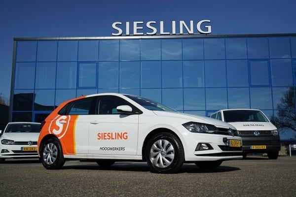 Afbeelding - Siesling vernieuwt wagenpark